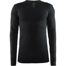 """Craft M's Active Comfort Roundneck LS Shirt Solid Black"""
